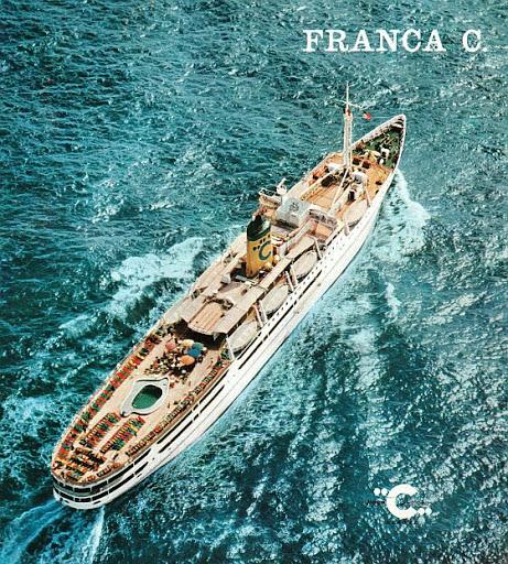 le Franca C de Costa Croisières