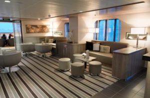 Suite du bateau de croisière de luxe Le Boréal de Ponant