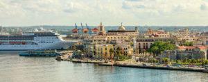 Le port de La Havane (Cuba)