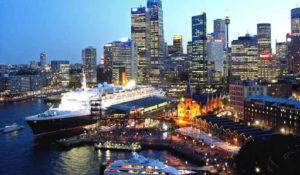 Le port de Sydney (Australie)